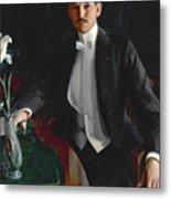 Portrait Of Harald Bildt Metal Print