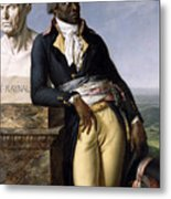 Portrait Of Jean-baptiste Belley Metal Print