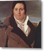 Portrait Of Joseph Antoine Moltedo Metal Print