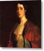 Portrait Of Katherine Cecil Sanford Metal Print