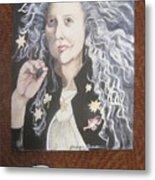 Portrait Of Kiki Smith Metal Print