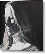 Portrait Of Leah S. Metal Print