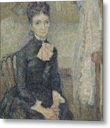 Portrait Of Leonie Rose Charbuy-davy Paris  March  April 1887 Vincent Van Gogh 1853  1890 Metal Print