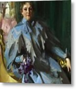 Portrait Of Lilly Eberhard Anheuser Anders Zorn Metal Print