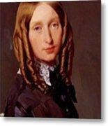 Portrait Of Madame Frederic Reiset 1847 Metal Print