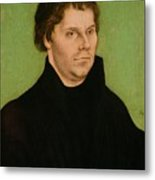 Portrait Of Martin Luther Metal Print