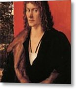 Portrait Of Oswolt Krel 1499 Metal Print