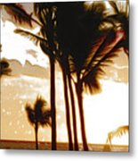 Portrait Of Paradise Metal Print