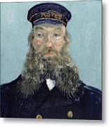 Portrait Of Postman Roulin Metal Print