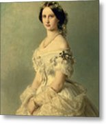 Portrait Of Princess Of Baden Metal Print
