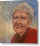 Portrait Of Ruth Sentelle Metal Print