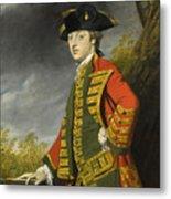 Portrait Of Sir Gerard Napier Metal Print