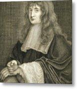 Portrait Of Sir Isaac Newton Metal Print