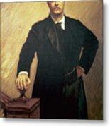 Portrait Of Theodore Roosevelt Metal Print by John Singer Sargent