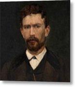 Portrait Of Unknown Man Rosales Gallinas, Eduardo Metal Print