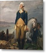 Portrait Of Washington Metal Print