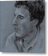 Portrait Of Young Man 19 Metal Print