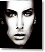 Portrait Of Young Man Metal Print