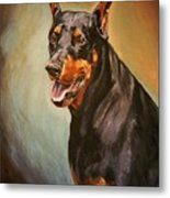 Portrait Of Zeus Metal Print