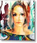 Portret Metal Print