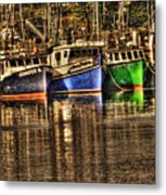 Portsmouth Boats Metal Print