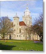 Portsmouth Cathedral In Springtime Metal Print