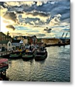 Portsmouth Harbor 2 Framed Print Can Be Seen On Set Of Abcs Desperate Housewives Metal Print by Edward Myers