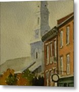 Portsmouth North Church Tower Metal Print