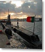 Portuguese Navy Submarine Metal Print