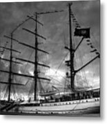 Portuguese Tall Ship Metal Print