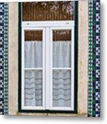 Portuguese Window Metal Print