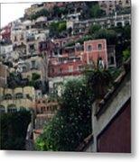 Positano, Amalfi,, Italy Metal Print