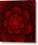 Positively Red Metal Print