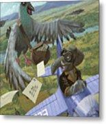 Postal Bird Metal Print by Martin Davey