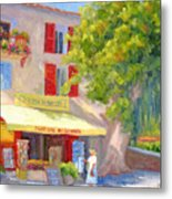 Postcard From Provence Metal Print