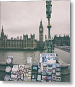 Postcards From Westminster Metal Print