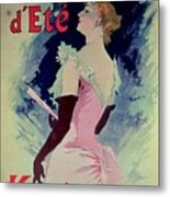 Poster Advertising Alcazar Dete Starring Kanjarowa  Metal Print