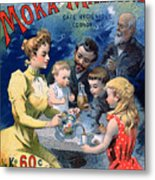 Poster Advertising Moka Maltine Coffee Metal Print