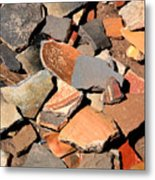 Pot Shards Metal Print