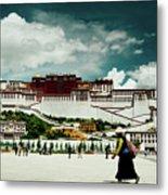 Potala Palace. Lhasa, Tibet. Yantra.lv Metal Print