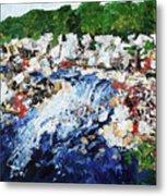 Potomac River At Great Falls  4 201687 Metal Print