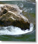 Potomac River Rapids Metal Print