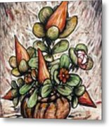 Potted Flower #2 Metal Print