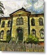 Potter Schoolhouse Metal Print