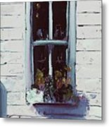 Pottery Store Window Metal Print