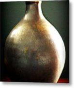 Pottery Vase Metal Print
