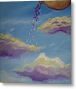 Poured Out Blessings Metal Print