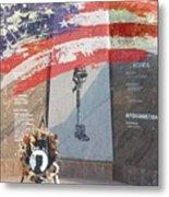Pow Memorial Metal Print