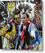 Pow Wow Back In Time 1 Metal Print