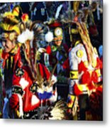 Pow Wow Beauty Of The Past 5 Metal Print